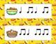 Thanksgiving Dinner! Rhythm Scavenger Hunt: Write the Room, Ta ti-ti