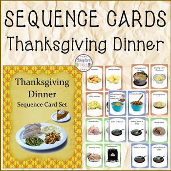 SEQUENCE CARDS Thanksgiving Dinner
