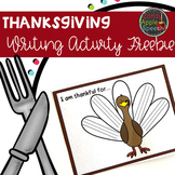 Thanksgiving Writing Activity Freebie