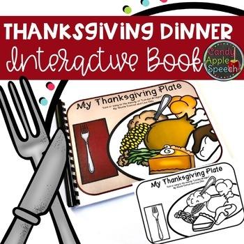 Thanksgiving Interactive Book
