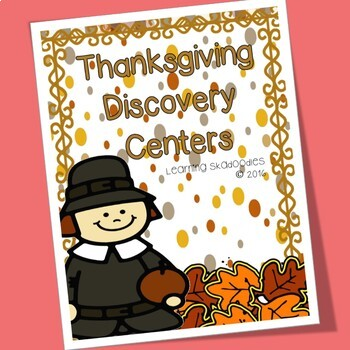 Thanksgiving Discovery Center Activities with Colors and Patterns