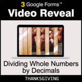 Thanksgiving: Dividing Whole Numbers by Decimals - Google