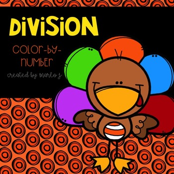 Thanksgiving Division 2-12 Color-By-Number