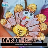 Thanksgiving Division Activity and Craft for Problem Solvi