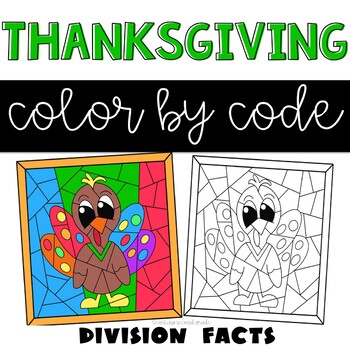 Thanksgiving Division Coloring
