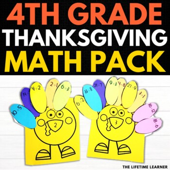 Thanksgiving Division Fact Math Puzzles