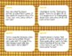 Thanksgiving Division Task Cards, No Remainders