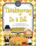 Thanksgiving Do-A-Dot
