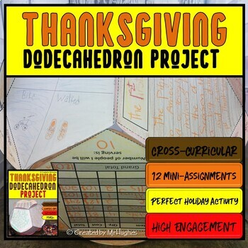Thanksgiving Dodecahedron Project