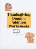 Thanksgiving Domino Worksheets