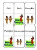 Thanksgiving Dominos with Words and Pictures
