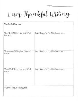 Thanksgiving Doodle Turkey & Writing