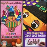 Turkey Collaborative Classroom Door Decoration: Great Thanksgiving Activity!