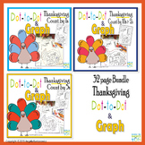 Thanksgiving Dot-To-Dot & Graph Bundle, Count by 1s, 2s, 5s, 10s