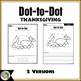 Thanksgiving Dot-to-Dot / Connect the Dots