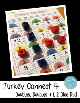 Thanksgiving Doubles Math Game