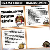 Thanksgiving Drama Circle Activity