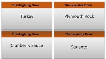 Thanksgiving Draw