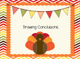 Thanksgiving Drawing Conclusions