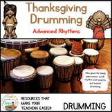 Thanksgiving Drumming for Learning, Fun, and Performance - Advanced Rhythms