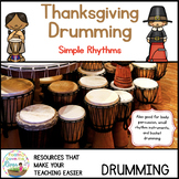 Thanksgiving Bucket Drumming  Simple Rhythms