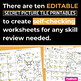 Thanksgiving EDITABLE Secret Picture Tile Printables