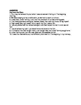 Thanksgiving ELA, Sentence Editing for Grades 3, 4, 5