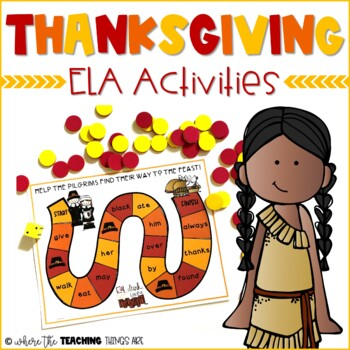 Thanksgiving Literacy Activities | Thanksgiving Unit