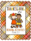 Thanksgiving ELA Activities (Upper Primary)