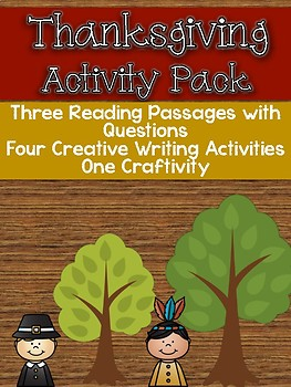Thanksgiving ELA Activity Pack
