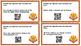Thanksgiving ELA Centers with QR Scan Codes