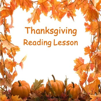 Thanksgiving ELA Lessons:  Grades (K-2)
