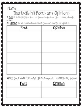 Thanksgiving ELA Pack