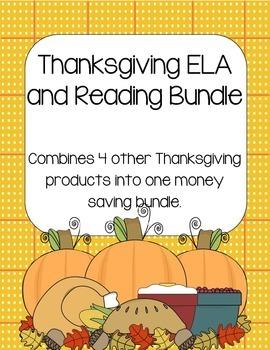 Thanksgiving ELA/Reading Bundle