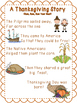 Thanksgiving ELA Songs and Center Activities CCSS Aligned