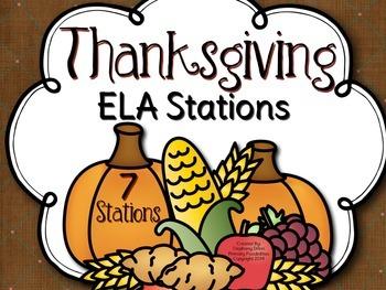 Thanksgiving ELA Stations