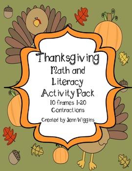 Thanksgiving ELA and Math Fun!