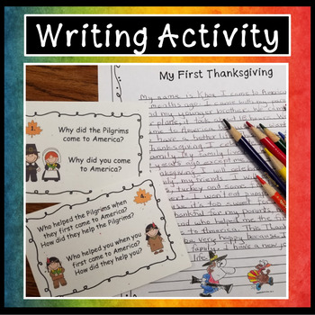 Thanksgiving Conversation and Writing Activities (Directions Included)
