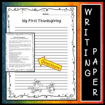 Thanksgiving Activities Writing and Conversation