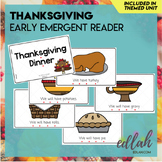 Thanksgiving Early Emergent Reader - Full Color Version