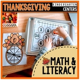 Kindergarten Math & Literacy Centers {Thanksgiving}