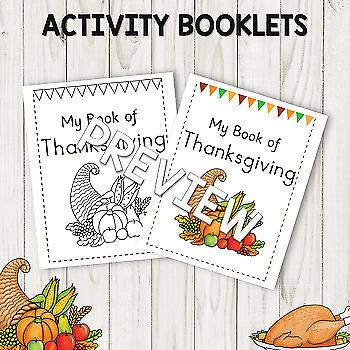 Thanksgiving Preschool Mini Unit Activities