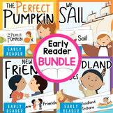 Thanksgiving Early Reader Bundle: 4 Thematic Books