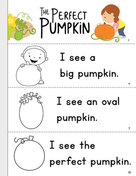 Thanksgiving Early Reader: The Perfect Pumpkin