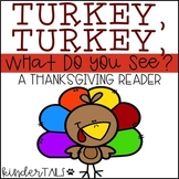 Thanksgiving Easy Reader for Kindergarten