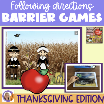 Thanksgiving Edition: Following Directions with Barrier Games