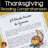 Thanksgiving Spanish Dia de Accion de Gracias