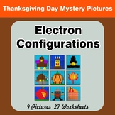 Thanksgiving: Electron Configurations - Mystery Pictures