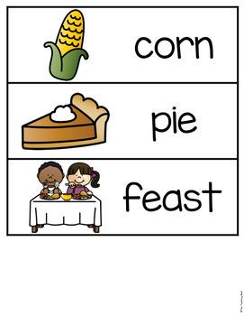 Thanksgiving Emergent Reader!