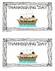 Thanksgiving Emergent Reader Book Pack (includes 3 emergent readers)
